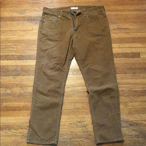 Men's Corduroy Brown Pants